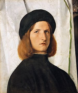 Autoretrato de Lorenzo Lotto