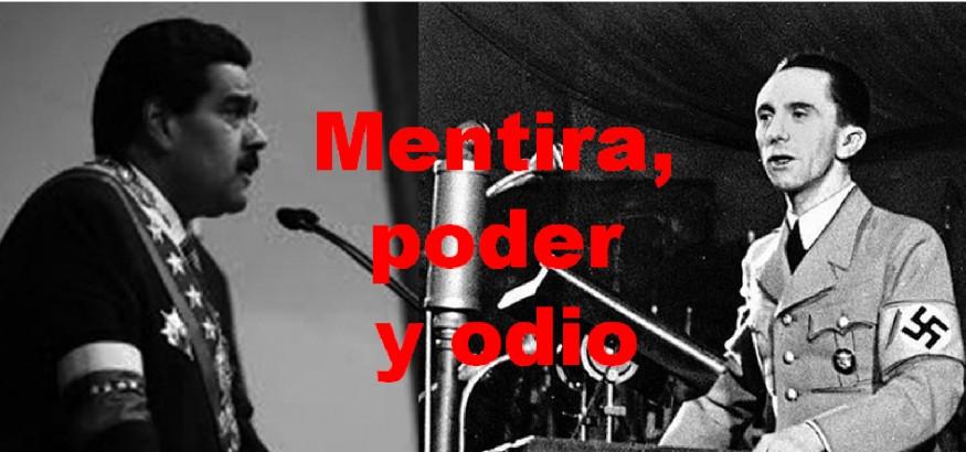Maduro y Goebbles