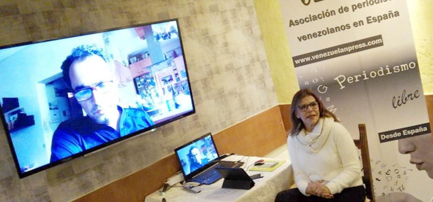 Eva-Gutierrez-y-Alonso-Moleiro. Foto: Carleth Morales