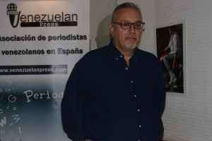 Sergio Dahbar. Foto María Auxiliadora Villegas