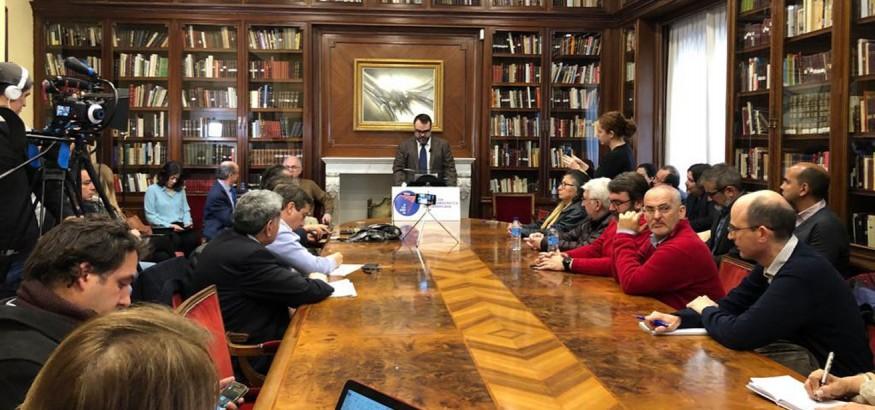 Academia se presenta en Madrid