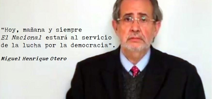 Miguel Henrique Otero El Nacional
