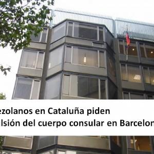 Venezolanos en Cataluña piden expulsión del cuerpo consular en Barcelona