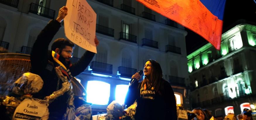 Periodistas-venezolanos-en-España. Foto: Leo Noguera
