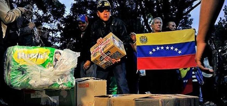 ayuda-humanitaria-venezuela. Foto: diariocorreo.pe