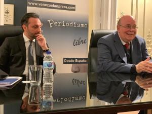 Antonio Ecarri y William Davila