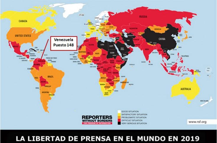 """Reporteros Sin Fronteras: """"El autoritarismo de Nicolás Maduro parece no tener límites"""""""
