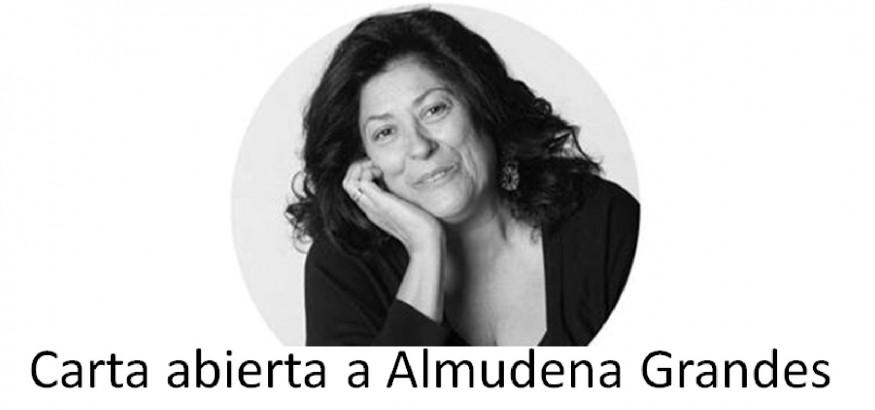 Carta abierta a Almudena Grandes
