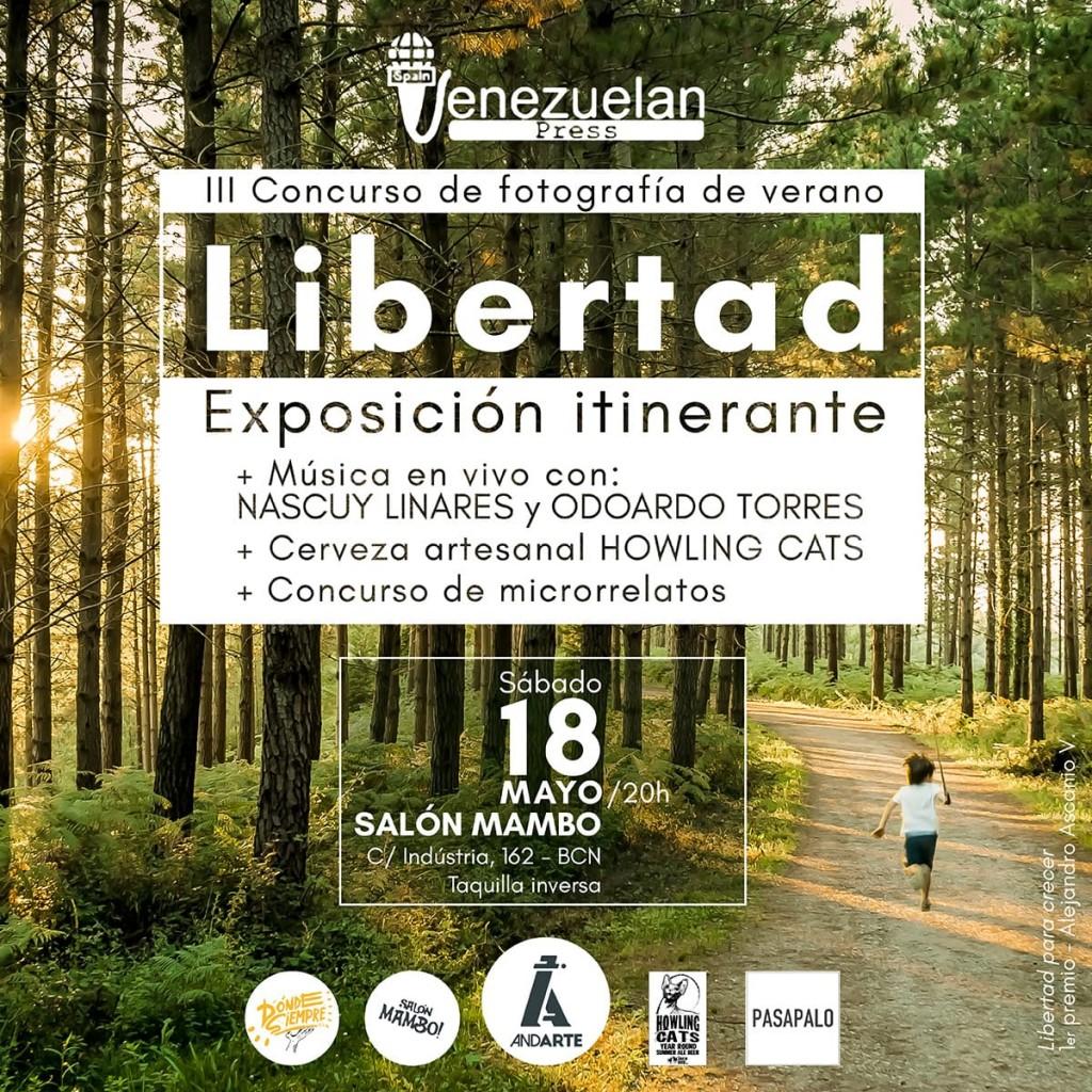 Expo Libertad Venezuelan Press y Andarte
