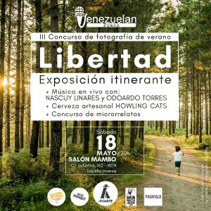 Expo Libertad Venezuelan Press y Andarte