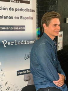 Carlos Baute con Venezuelan Press