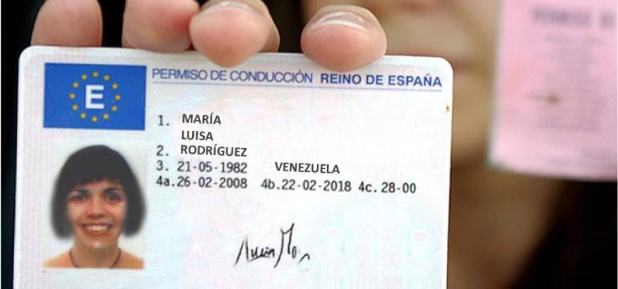canje-del-carnet-de-conducir-venezolano-en-España