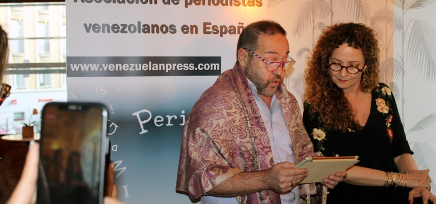 Miguel Ferrary y Lupe Gehrenbeck conversan con Venezuelan Press