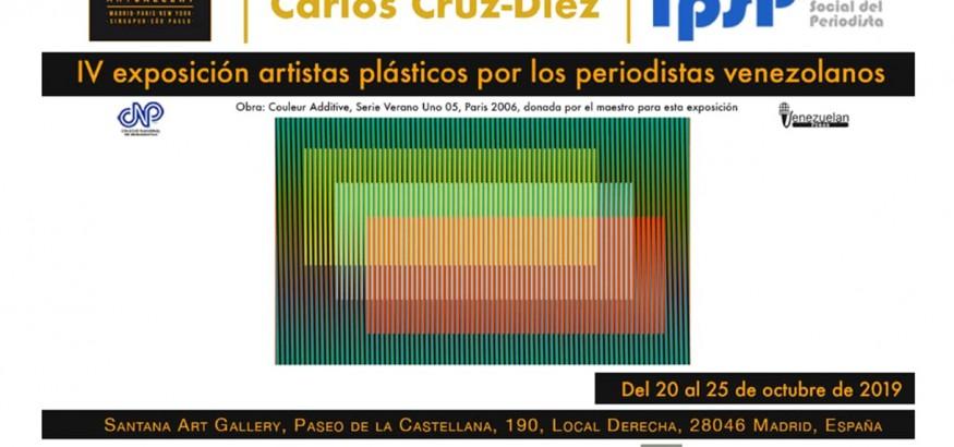 exposición del IPSP en Madrid con el apoyo de Venezuelan Press y el CNP