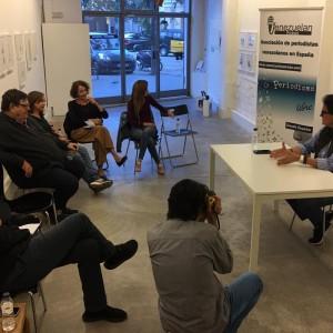 """Rayma conversa con Venezuelan Press en Barcelona en el marco de su exposición """"Yo Inmigrante"""""""