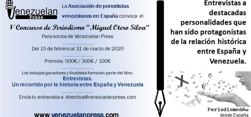 """Convocatoria-V-Concurso de periodismo """"Miguel Otero Silva"""""""