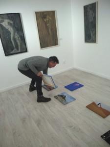 Exposición Fortaleza de Venezuelan Press en Santana Art Gallery
