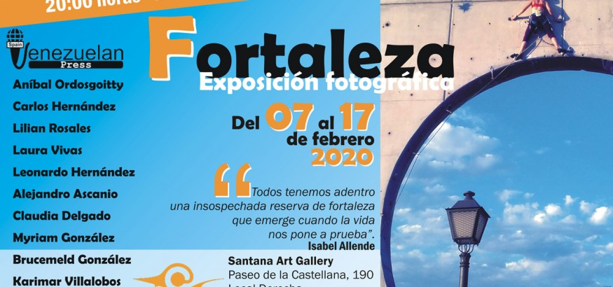 exposición Fortaleza Venezuelan Press