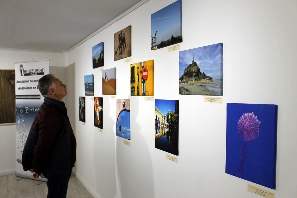 Exposición de fotos Venezuelan Press. Foto: Alfredo Peña