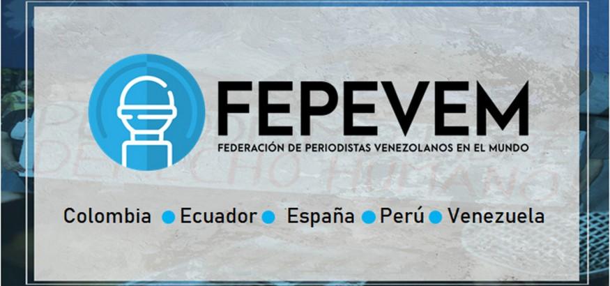Fepevem periodistas venezolanos en el mundo