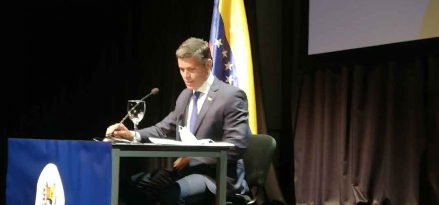 Leopoldo López en Madrid