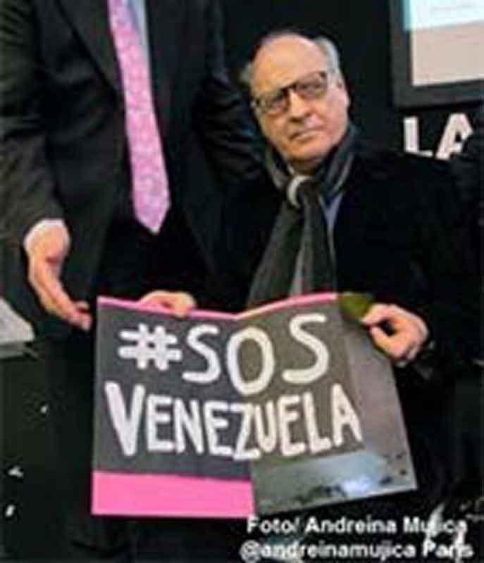 Quino por Venezuela. Foto: Andreina Mujica