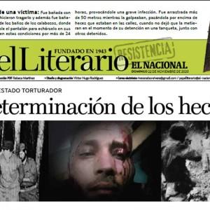 Crónica del Estado Torturador, el papel del Papel Literario