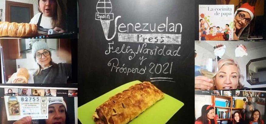 Venezuelan Press celebra el VI encuentro navideño