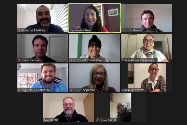Venezuelan Press y el Campus Transparencia renuevan su convenio de formación