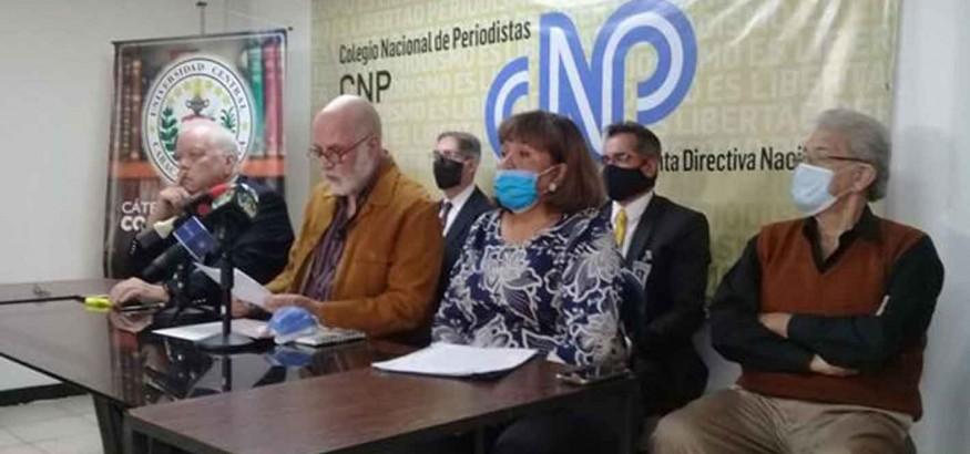 Tinedo Guia firma comunicado por la libertad de expresión