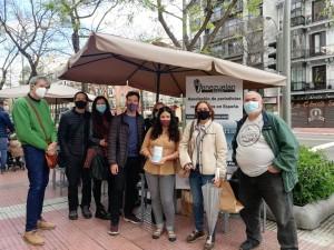 Campaña Una mascarilla para los periodistas en Venezuela