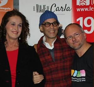Gerjo Pérez Meliá junto a Pedro Zerolo.