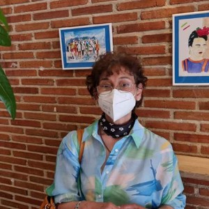 La pintora María Nubia Rueda expone en Madrid