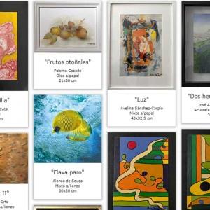 Santana Art Gallery organiza una exposición virtual benéfica para reconocer la labor del Padre Ángel