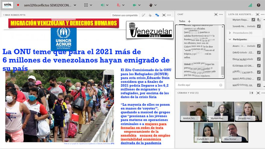 Venezuelan Press en la UNIR
