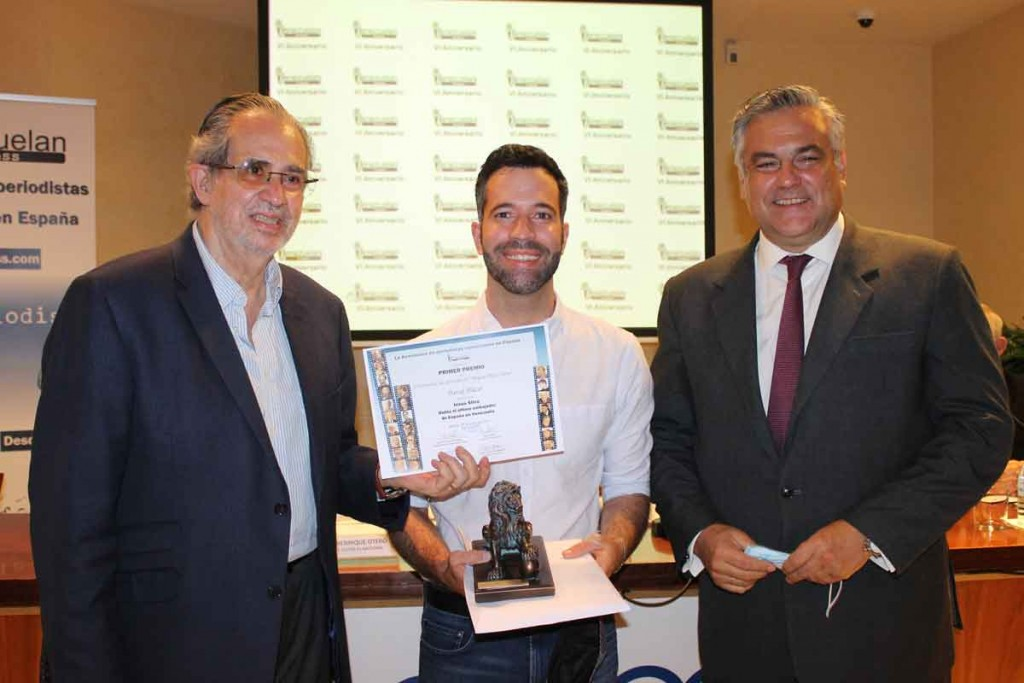 David Placer recibe V Premio Miguel Henrique Otero