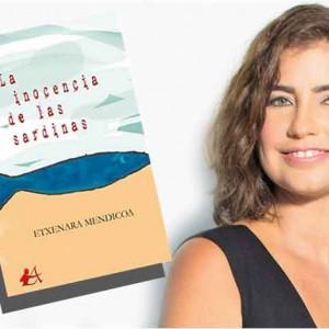 """Etxenara Mendicoa, galardonada con el Premio a mejor novela histórica por """"La inocencia de las sardinas"""""""