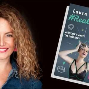 Laura Termini, actriz y empresaria digital, presenta en Madrid su libro Realmente Única