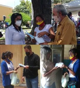 Bolivar recibe mascarillas