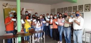 Bonocó recibe sus mascarillas enviadas por Venezuelan Press